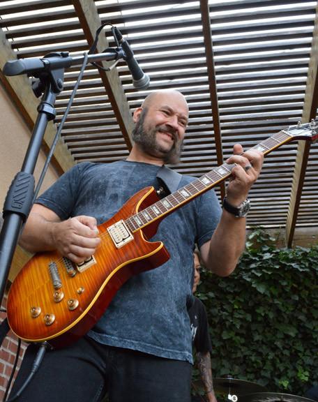 Mean Gene Gene Baker guitarist master guilder builder and human dynamo