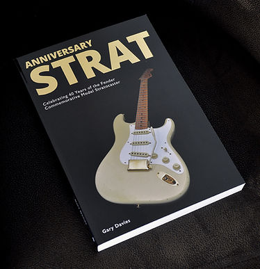 The latest book on Fender factoy and Custom Shop guitars ad the ideal gift for the guitarist