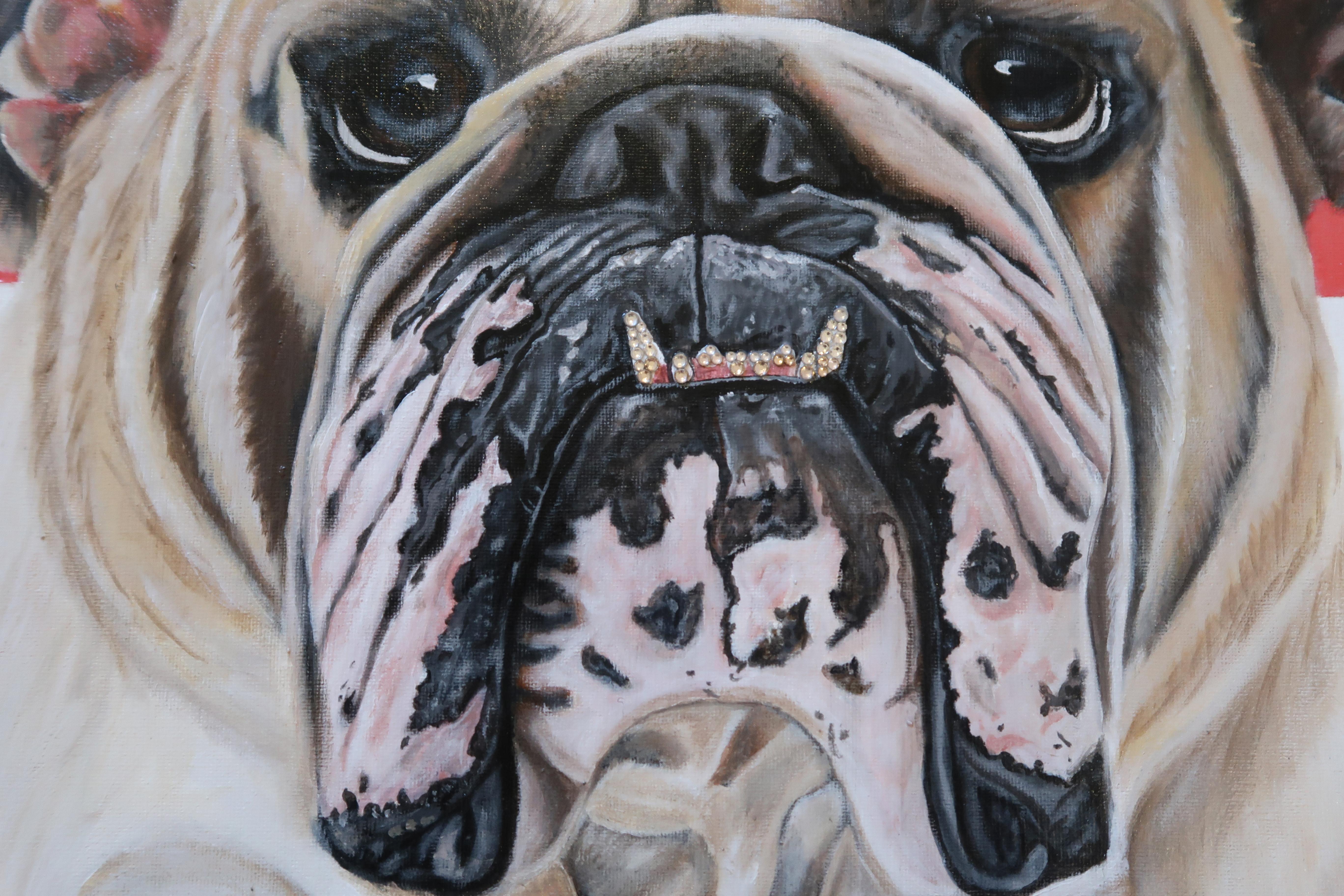 world cup artwork england bulldog natali