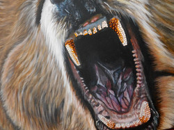 Teddy Grizzly Bear Natalie Daghestani Artist Art Dubai6