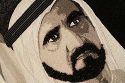 HH Sheikh Mohammed Maktoum  Dubai Natalie Daghestani Swarovski Art4