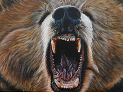 Teddy Grizzly Bear Natalie Daghestani Artist Art Dubai8