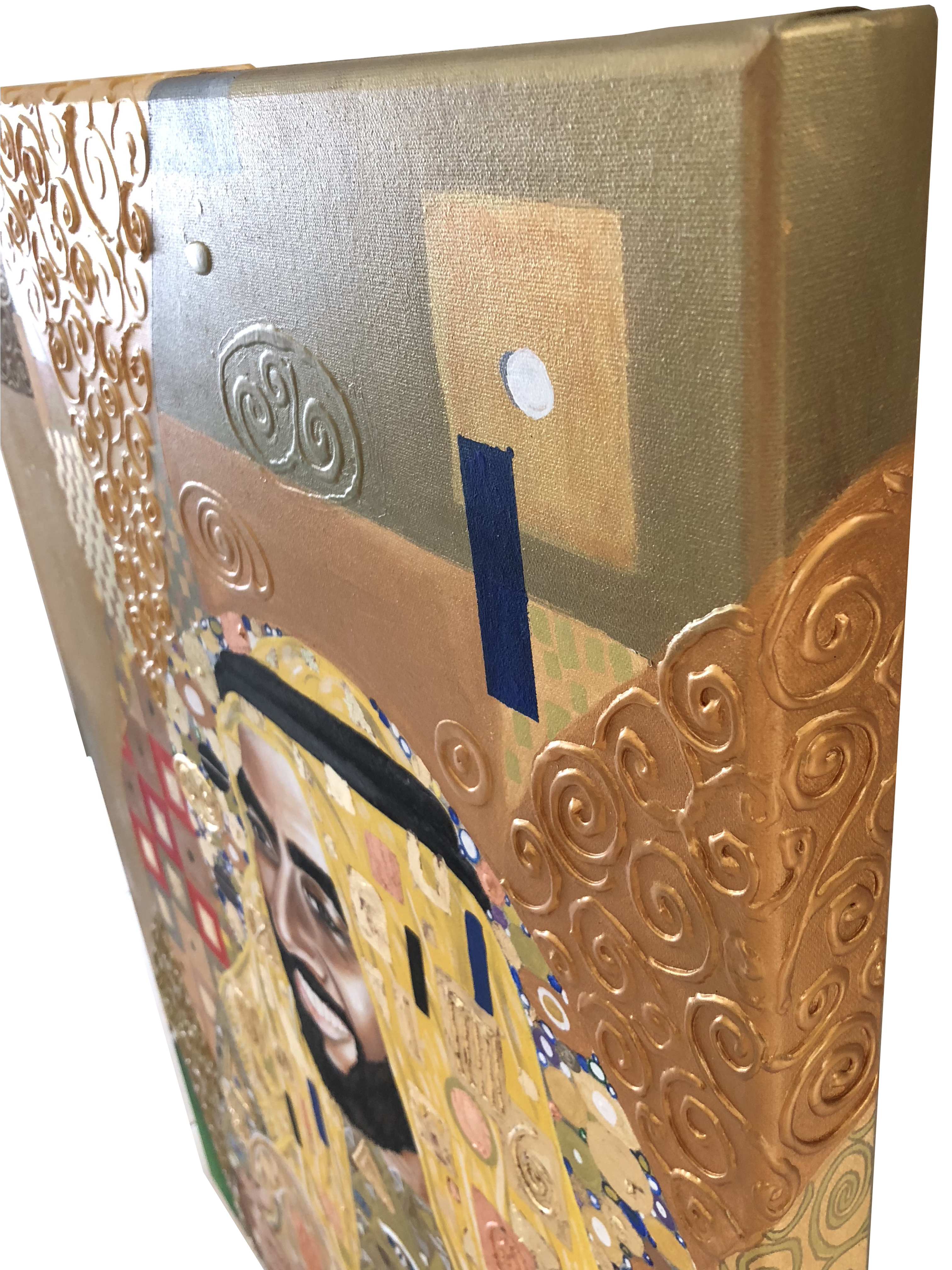 Portrait of His Highness Sheikh Zayed Natalie Daghestani Art Dubai Artist BSAB