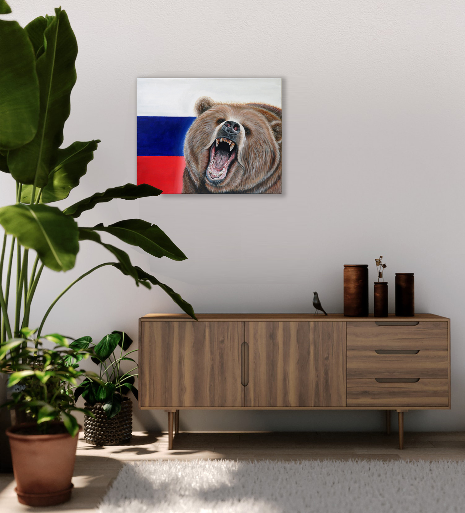 world cup artwork russian bear natalie d