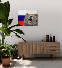world cup artwork russian bear natalie d
