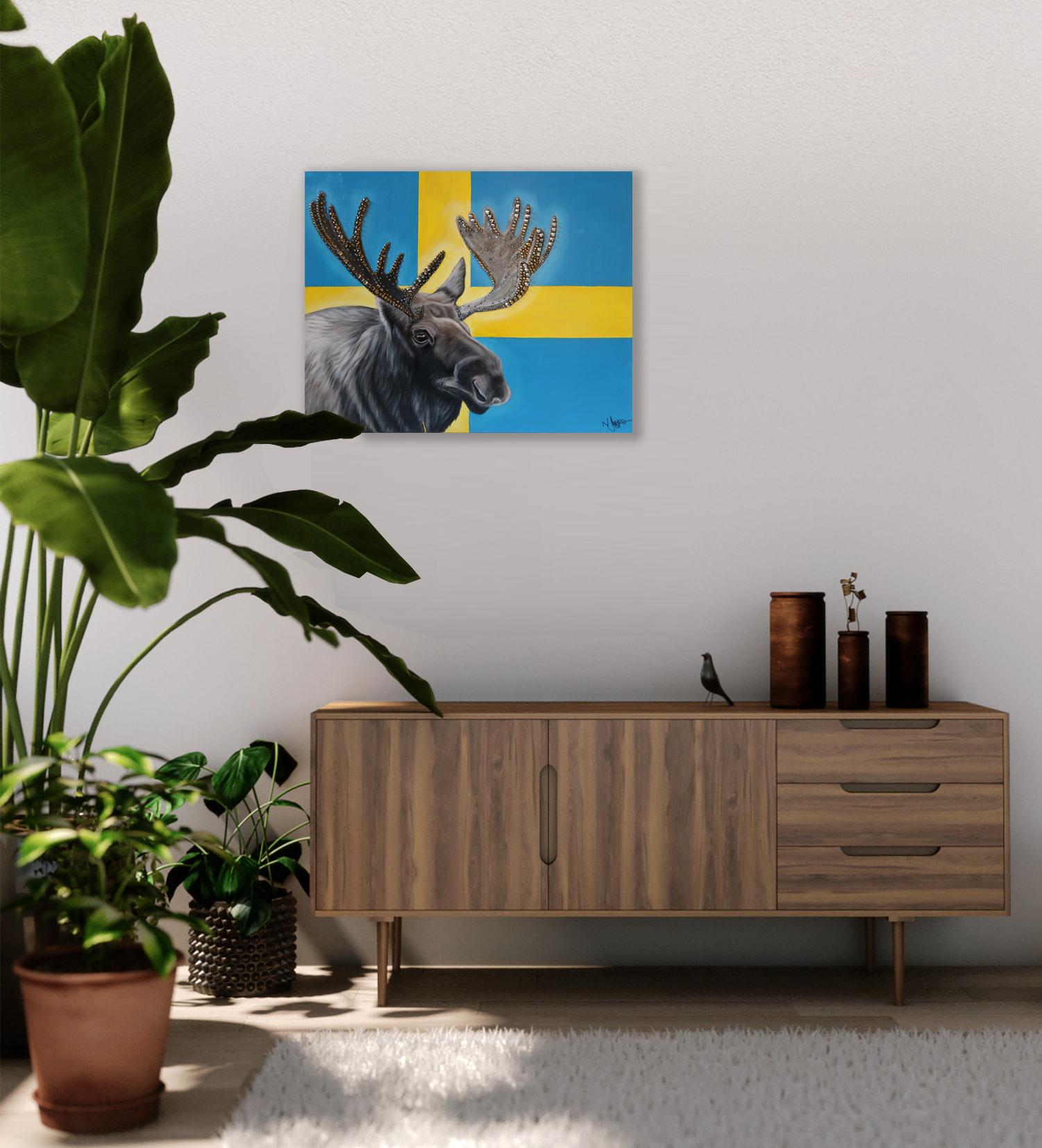 world cup artwork swedish elk natalie da