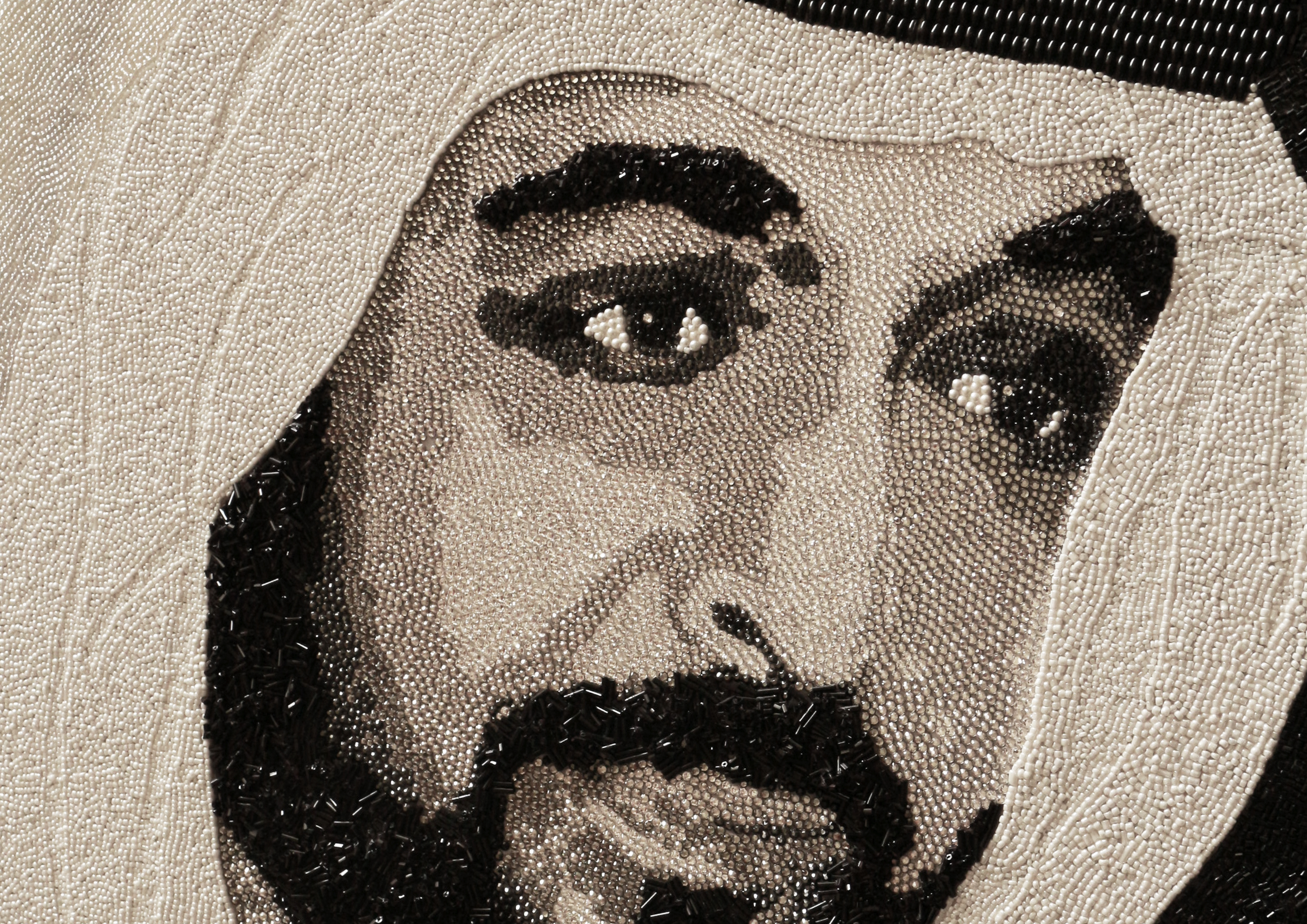 HH Sheikh Khalifa Abu Dhabi Natalie Daghestani Swarovski Art