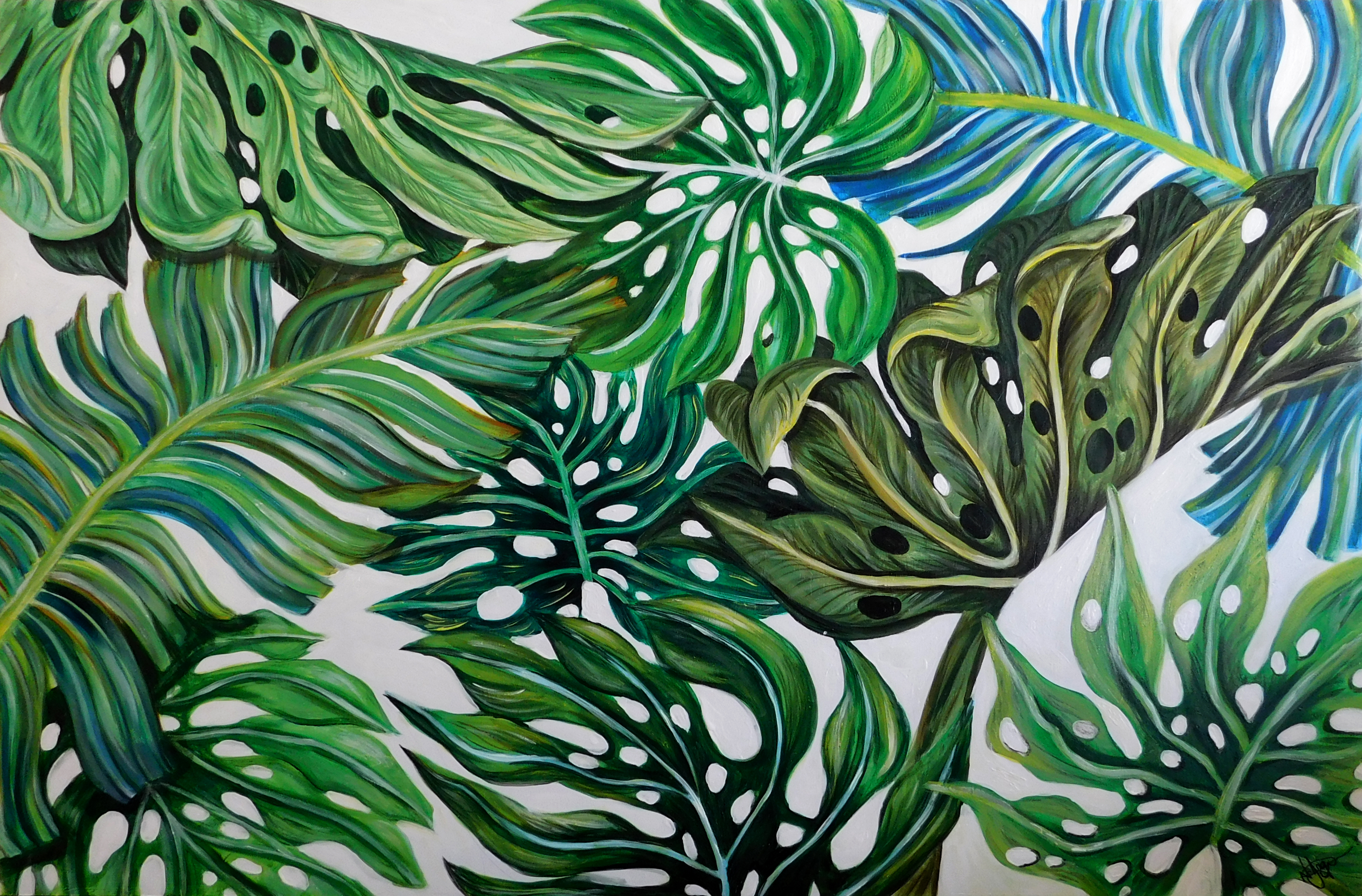 Illustrious Leaves Part 1 Natalie Daghestani Art Dubai BSAB