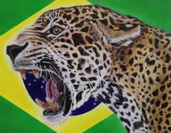 world cup artwork brazil jaguar natalie