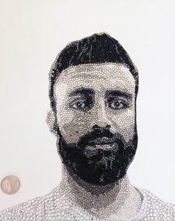 Private Commission Swarovski Portrait Natalie Daghestani Art2