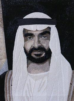 HH Sheikh Nahyan Abu Dhabi Natalie Daghestani Swarovski Art4