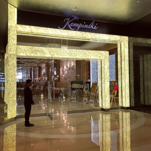 Kempinski Mall of the Emirates, Year of Zayed Art Exhibition Natalie Daghestani BSAB