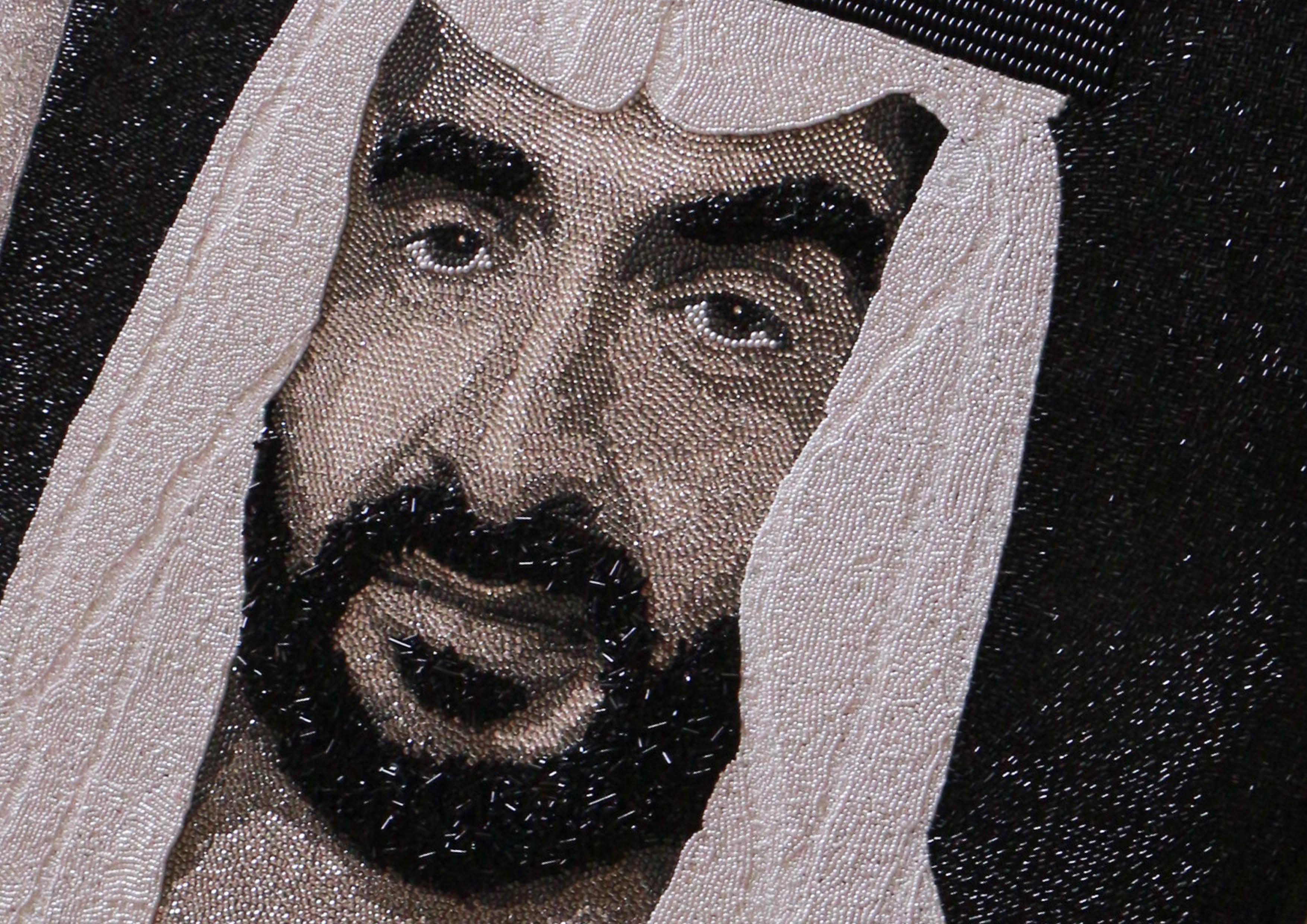 HH Sheikh Nahyan Abu Dhabi Natalie Daghestani Swarovski Art1