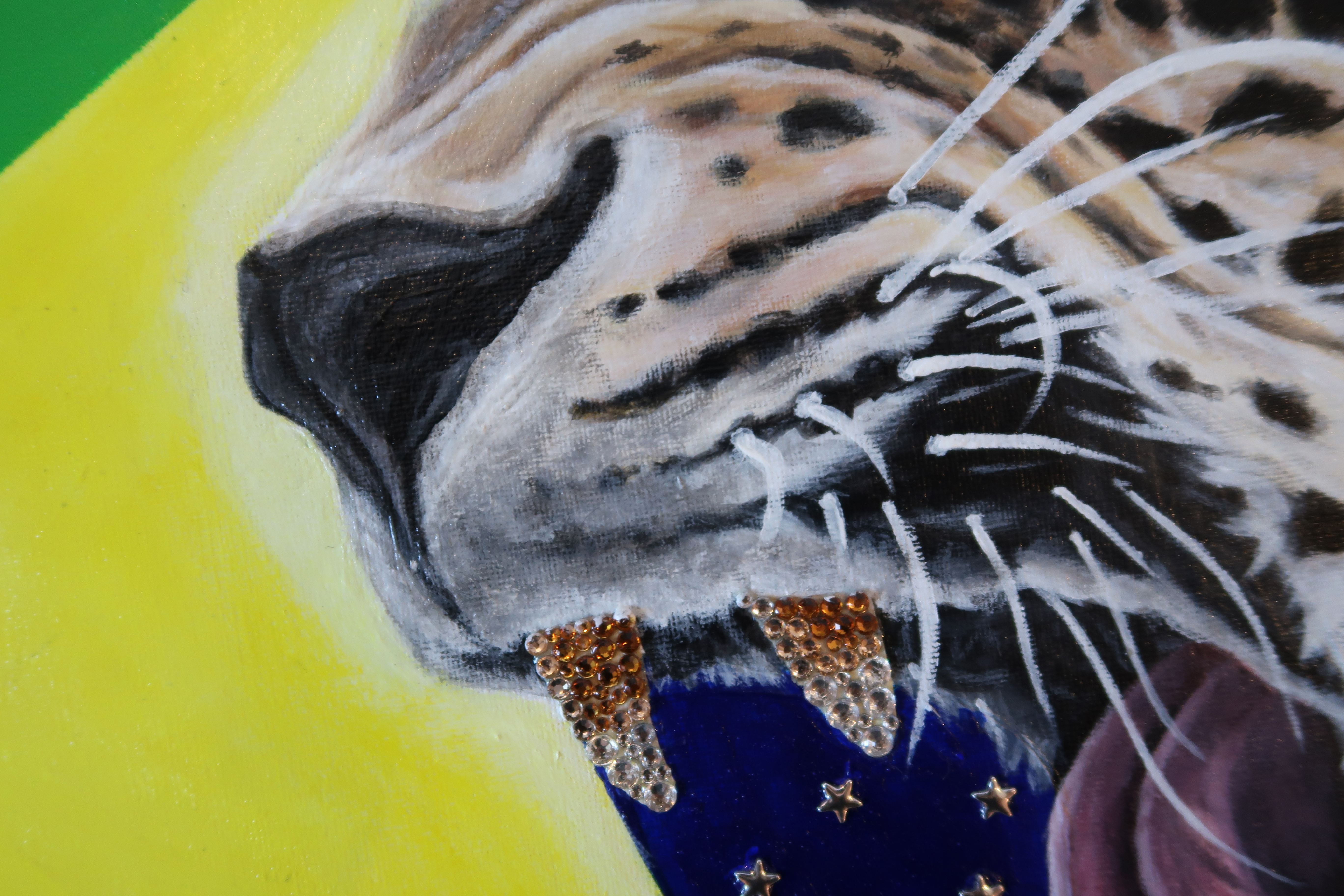 world cup artwork brazil jaguar natalie
