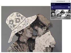 HRH Princess Haya Official Website Natalie Daghestani Swarovski Crystal Art1