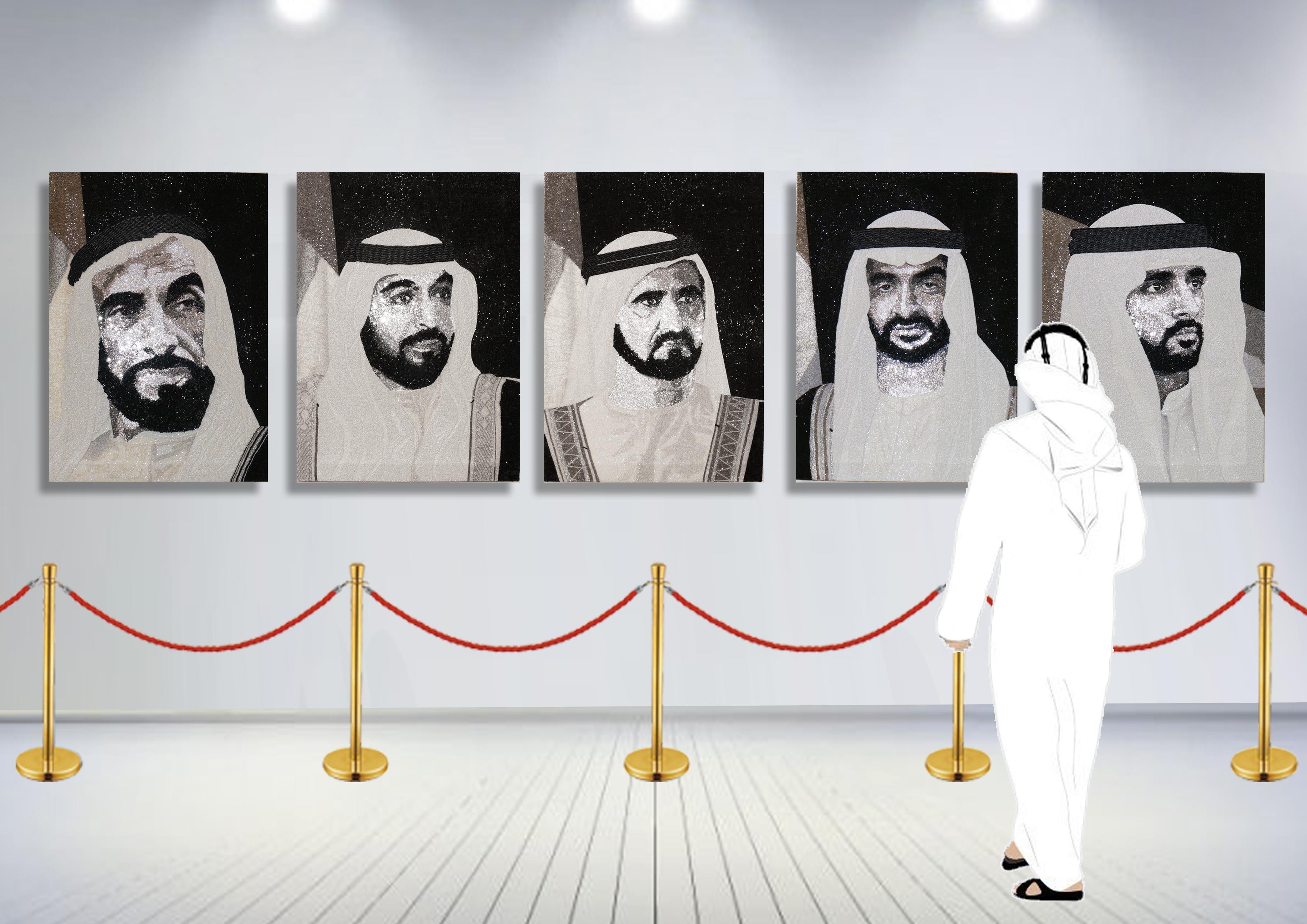 HH Sheikh Mohammed Maktoum Dubai Natalie Daghestani Swarovski Art3