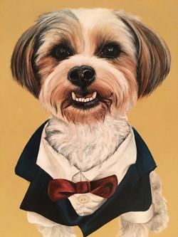 Natalie Daghestani BSAB Artist Dog Portr