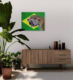 world cup artwork brazilian jaguar natal