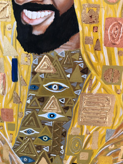 Portrait of His Highness Sheikh Zayed Natalie Daghestani Art Dubai Artist BSAB 8