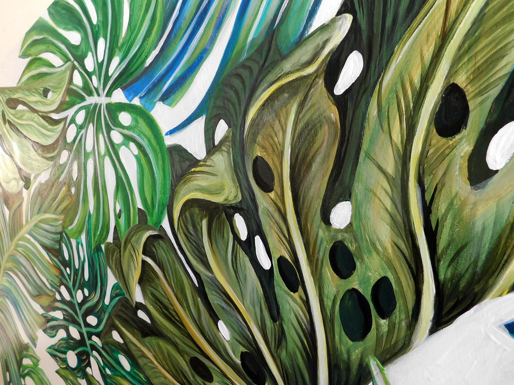 Illustrious Leaves Part 1 Natalie Daghestani Art Dubai BSAB2