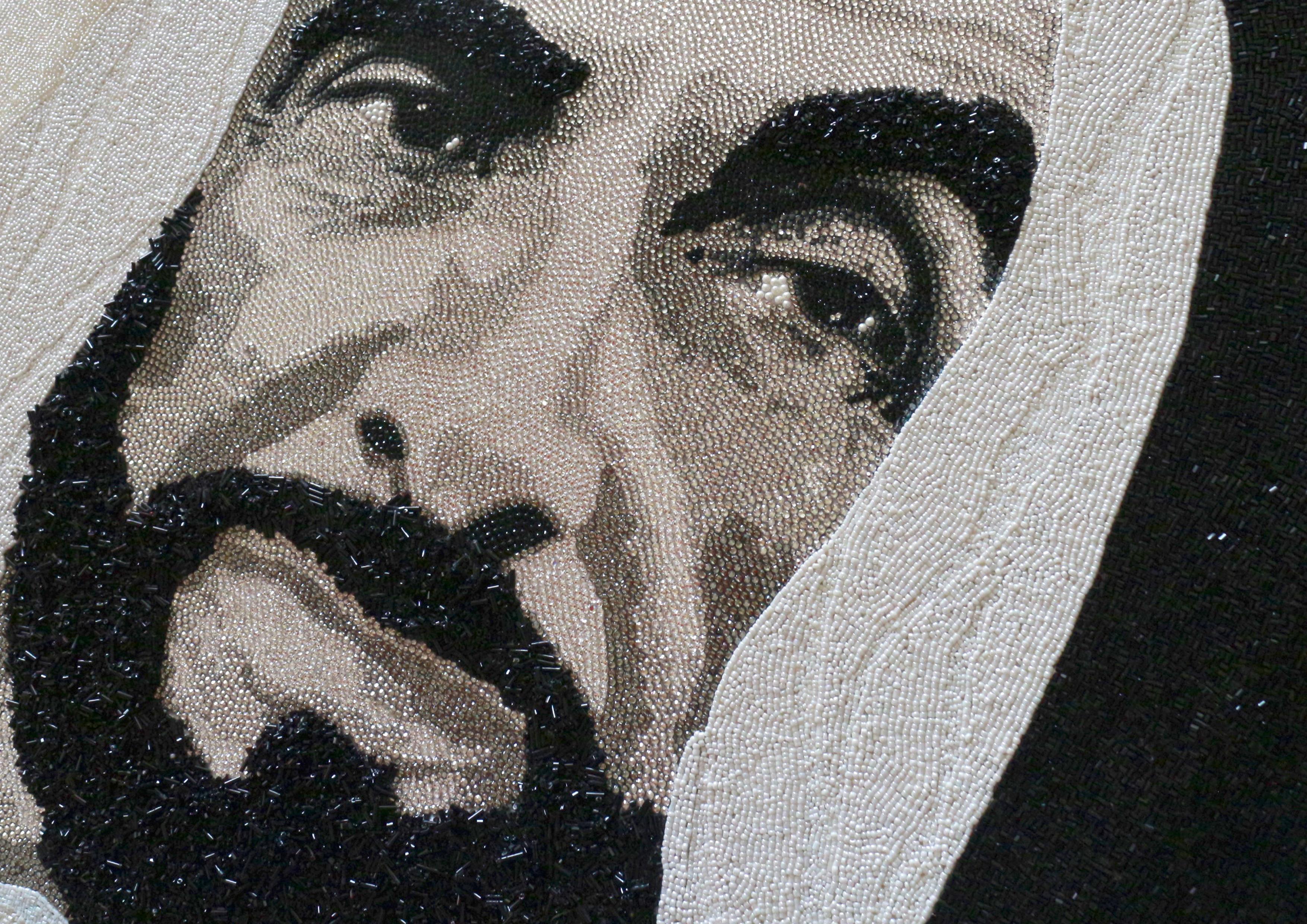 HH Sheikh Zayed Abu Dhabi Natalie Daghestani Swarovski Art2