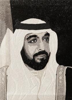 HH Sheikh Khalifa Abu Dhabi Natalie Daghestani Swarovski Art2