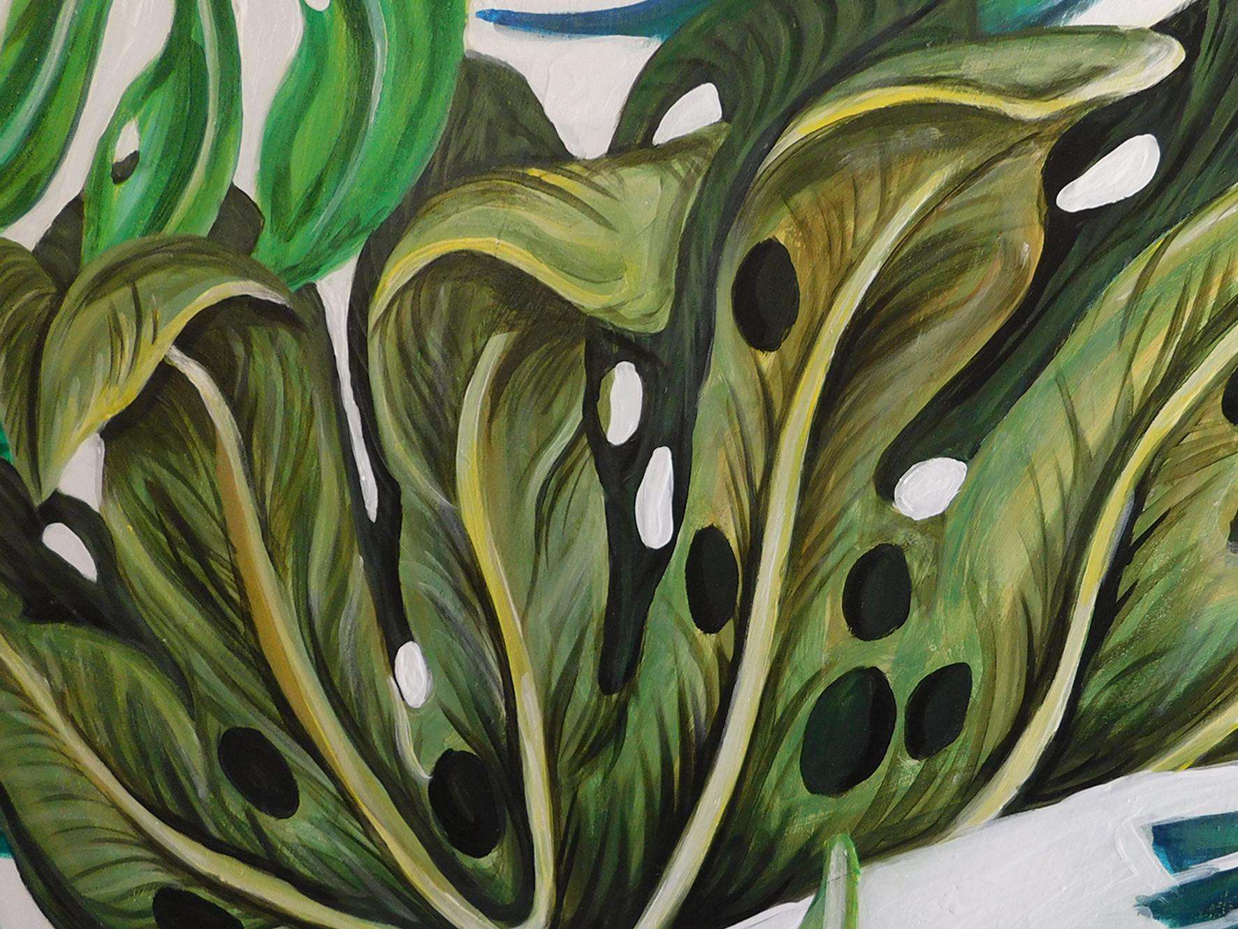Illustrious Leaves Part 1 Natalie Daghestani Art Dubai BSAB5
