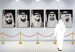 HH Sheikh Khalifa Abu Dhabi Natalie Daghestani Swarovski Art3