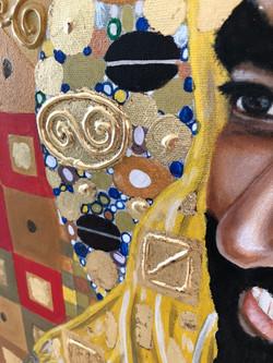 Portrait of His Highness Sheikh Zayed Natalie Daghestani Art Dubai Artist BSAB 4