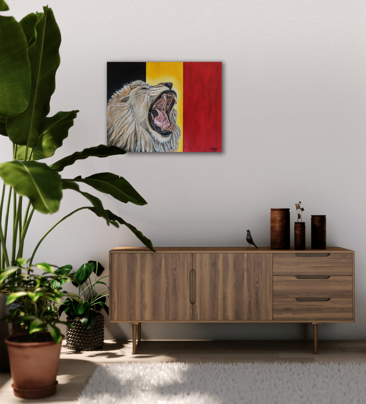 world cup artwork belgium lion natalie d