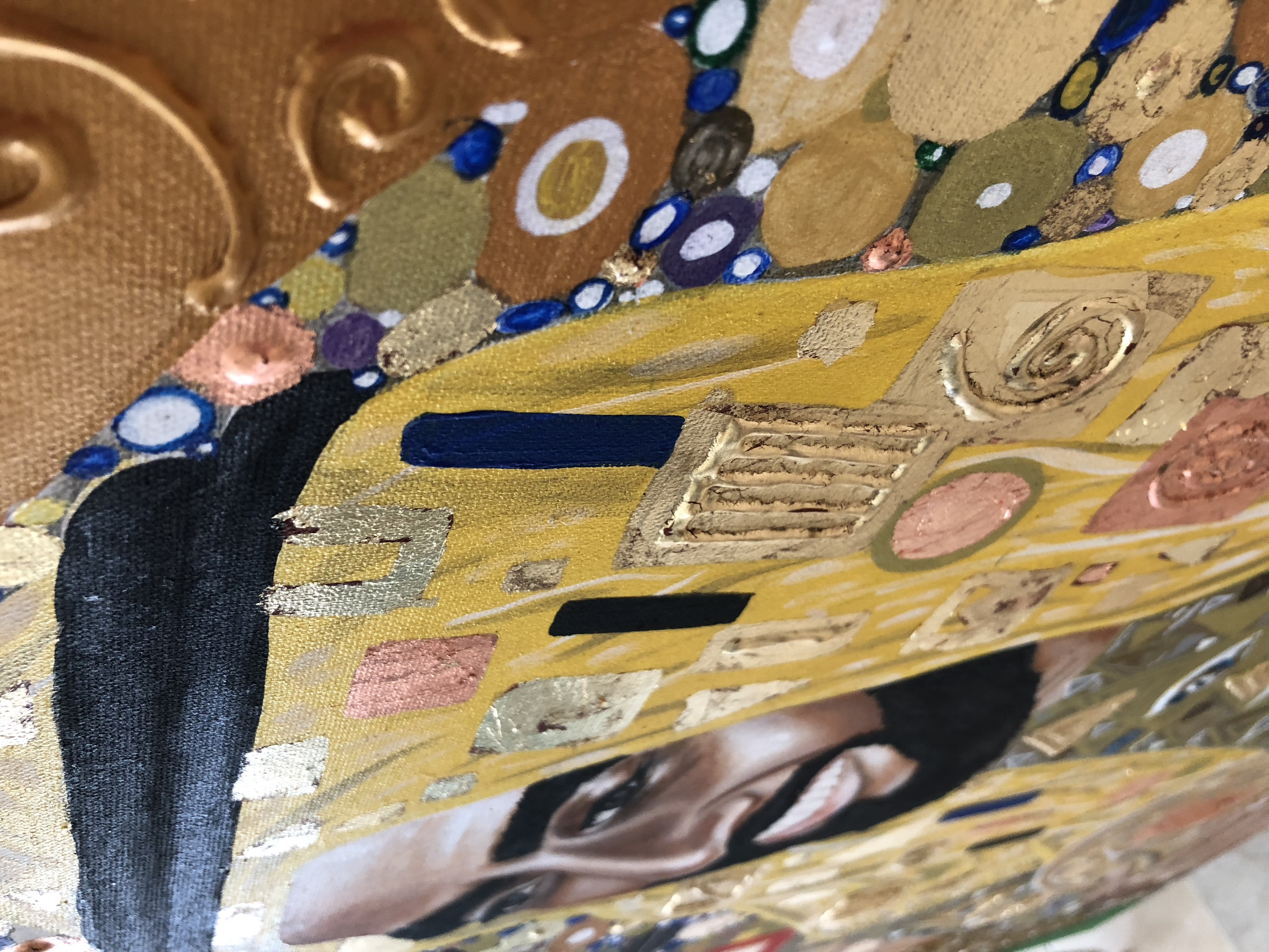 Portrait of His Highness Sheikh Zayed Natalie Daghestani Art Dubai Artist BSAB 9