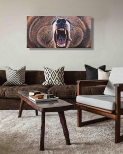 Teddy Grizzly Bear Natalie Daghestani Artist Art Dubai9