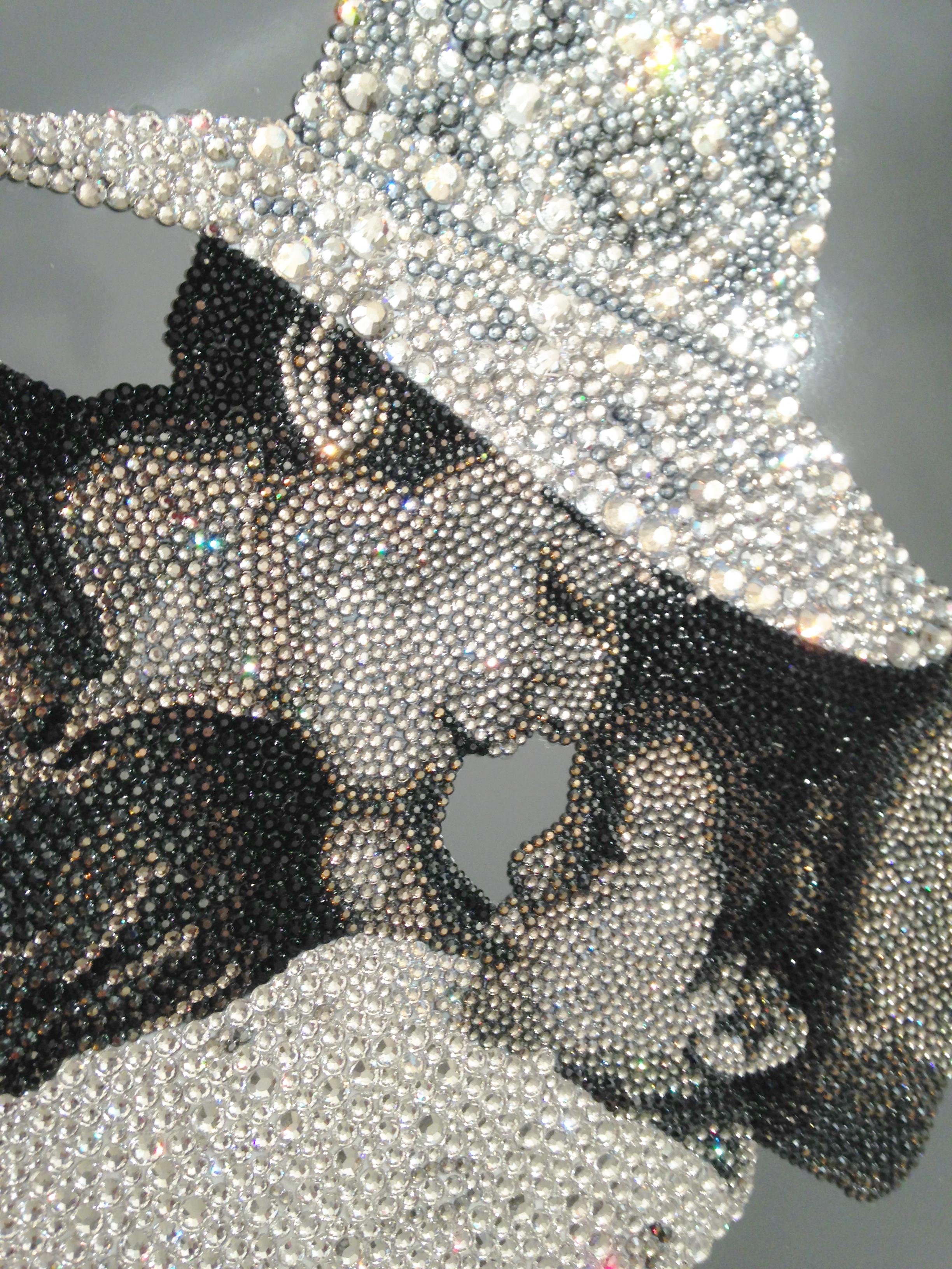 HRH Princess Haya Natalie Daghestani Swarovski Crystal Art4