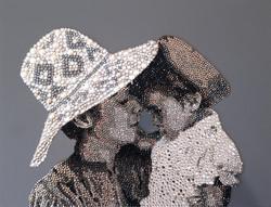 HRH Princess Haya Natalie Daghestani Swarovski Crystal Art