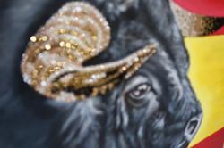 world cup artwork spain bull torro natal