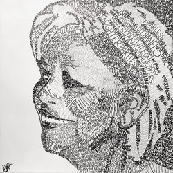 Stories of Pat Art Word Art Natalie Dagh