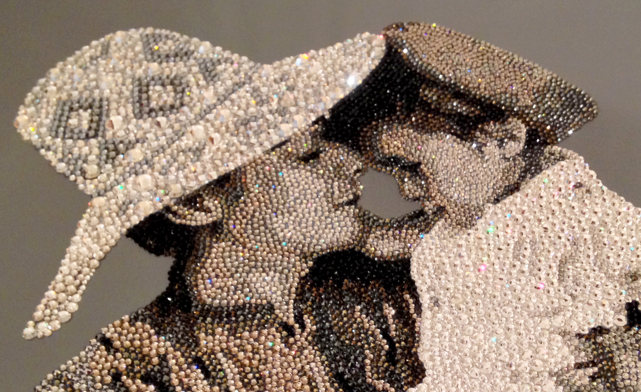 HRH Princess Haya Natalie Daghestani Swarovski Crystal Art2