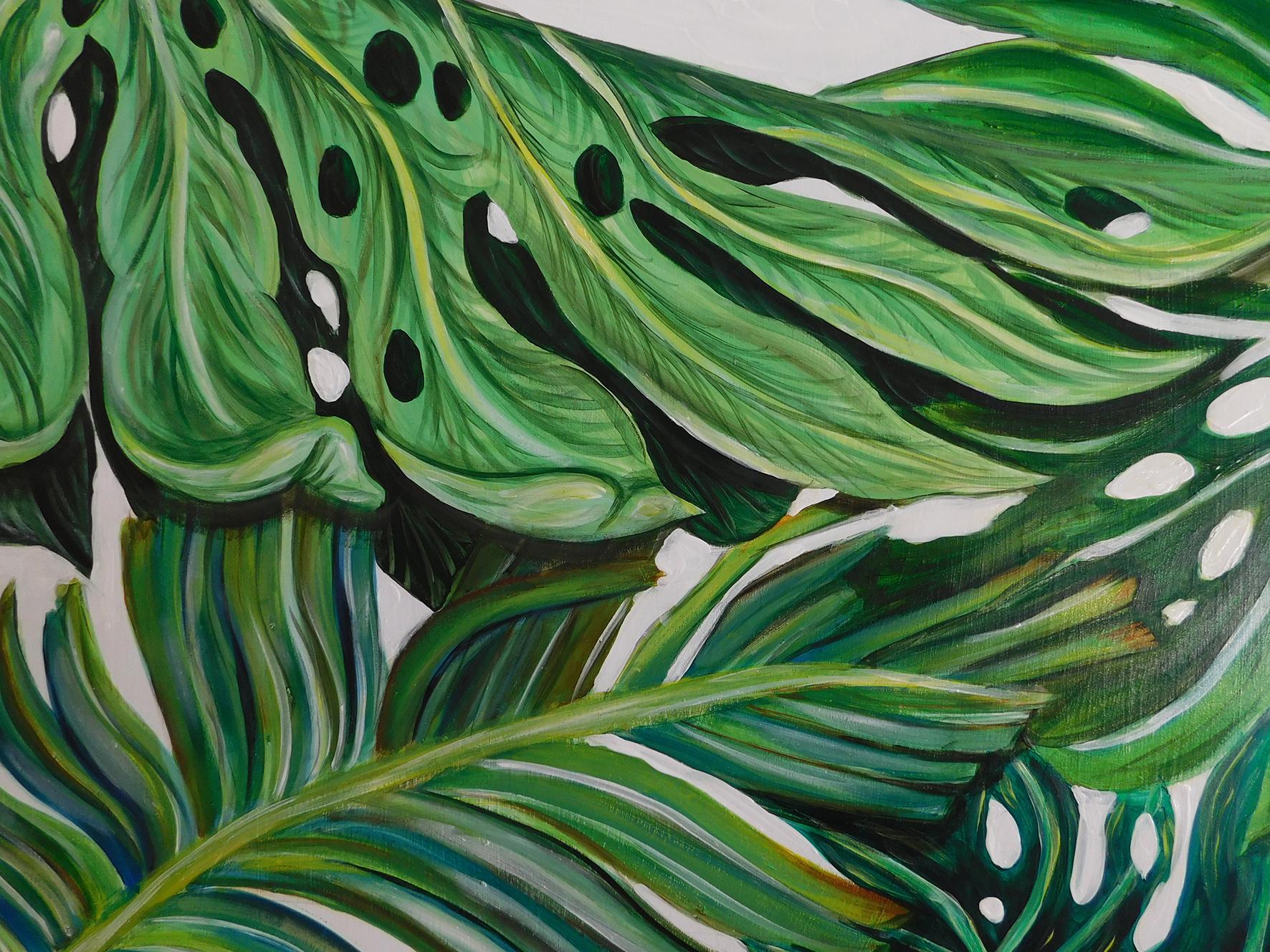 Illustrious Leaves Part 1 Natalie Daghestani Art Dubai BSAB3