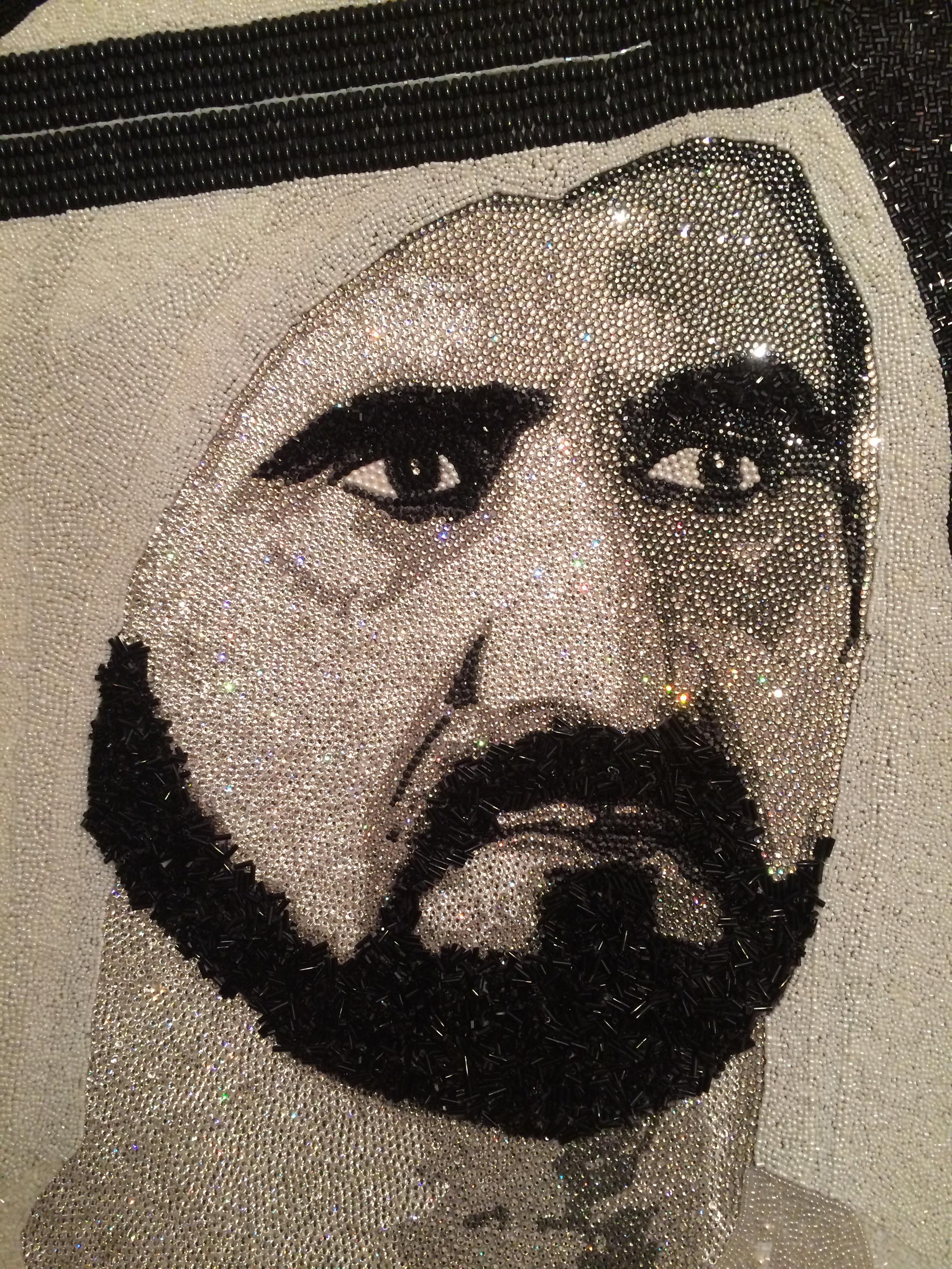 HH Sheikh Mohammed Maktoum Dubai Natalie Daghestani Swarovski Art8