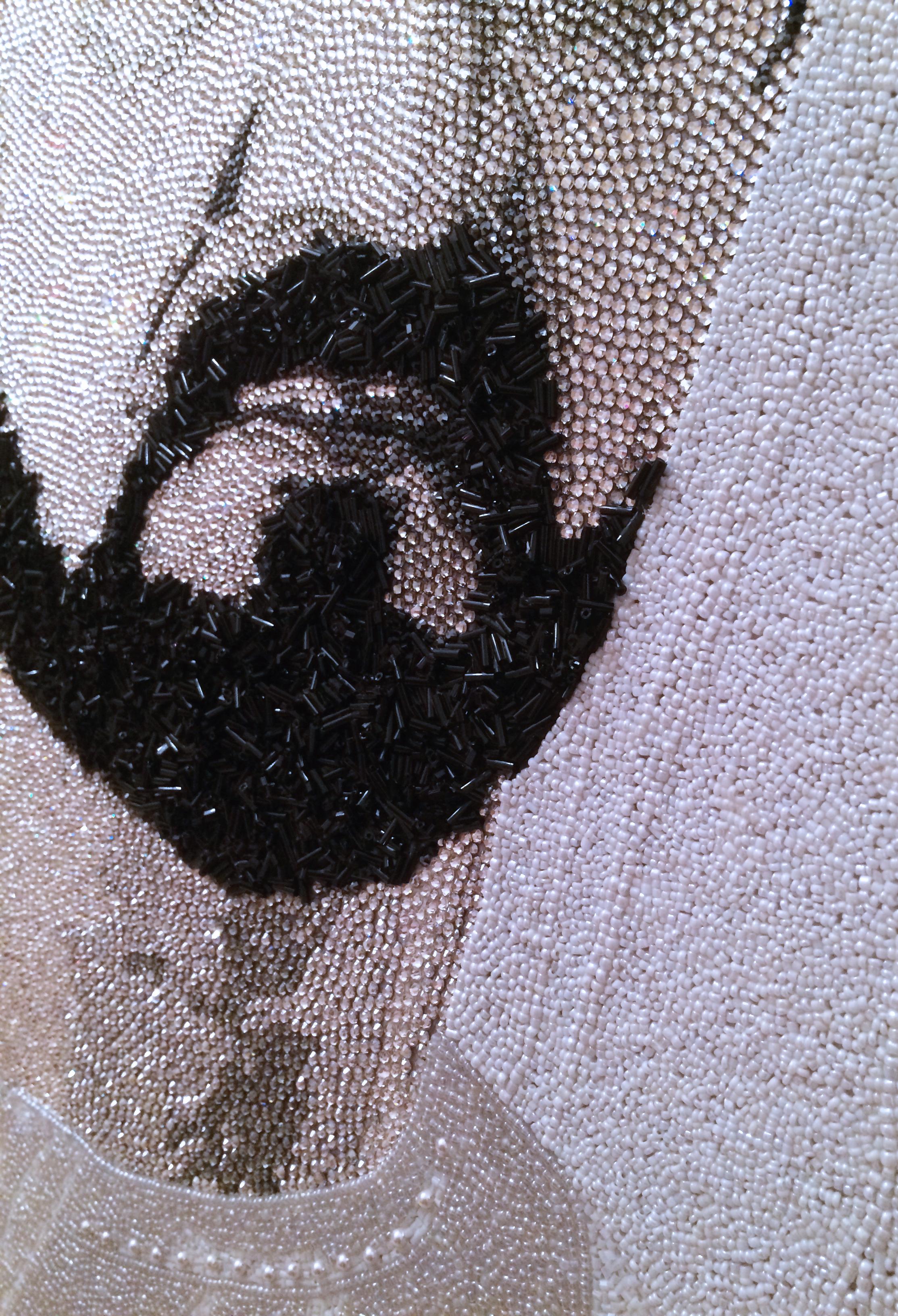 HH Sheikh Mohammed Maktoum Dubai Natalie Daghestani Swarovski Art1