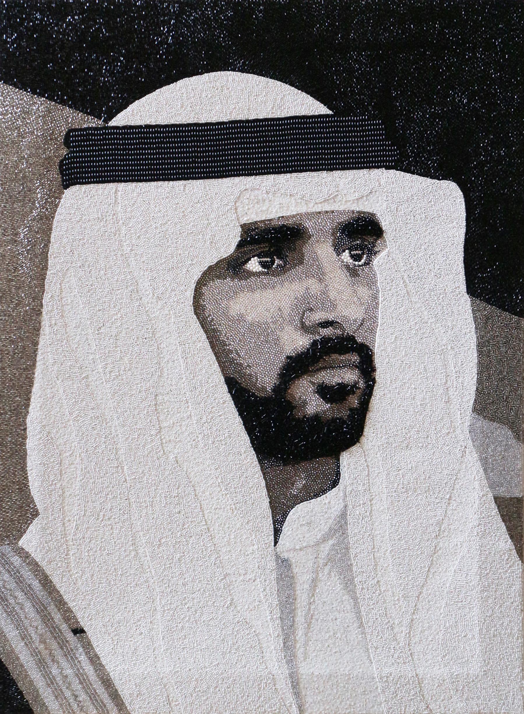 HH Sheikh Hamdan Dubai Natalie Daghestani Swarovski Art4