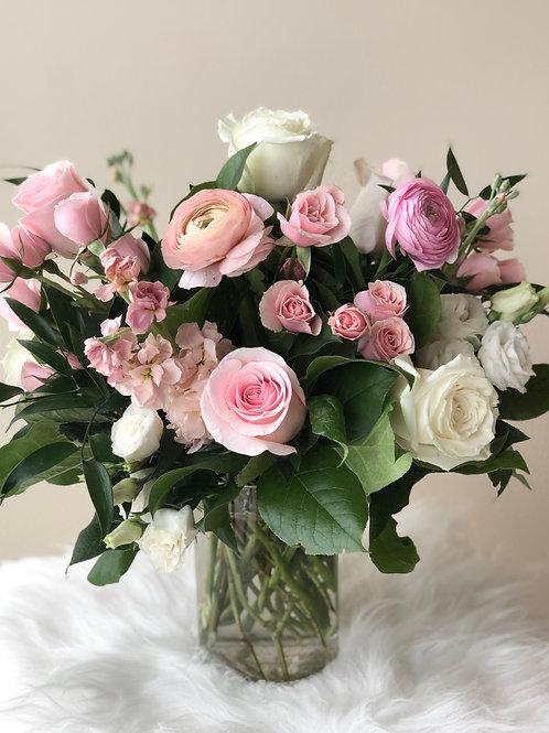 Pink & White Arrangement #1
