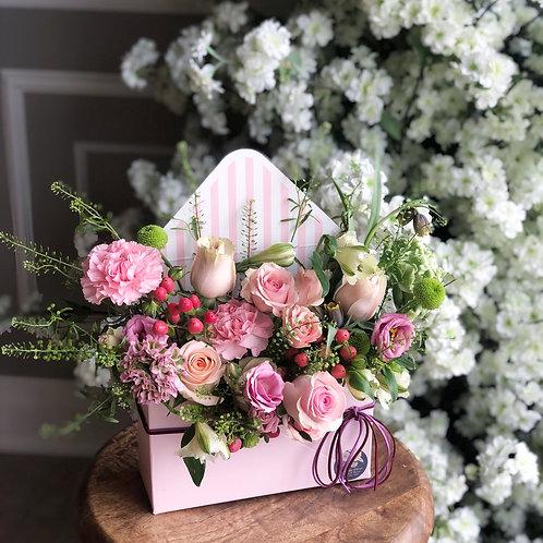 Flower Envelop Box