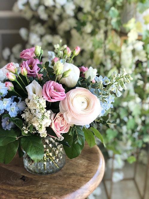 Light Blue & Pink Arrangement