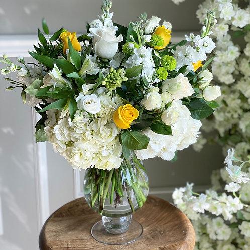 White & Yellow Arrangement #2