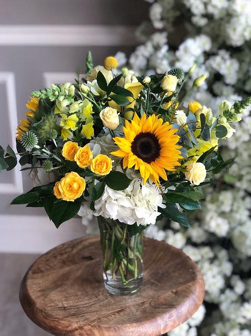 White & Yellow Arrangement #1