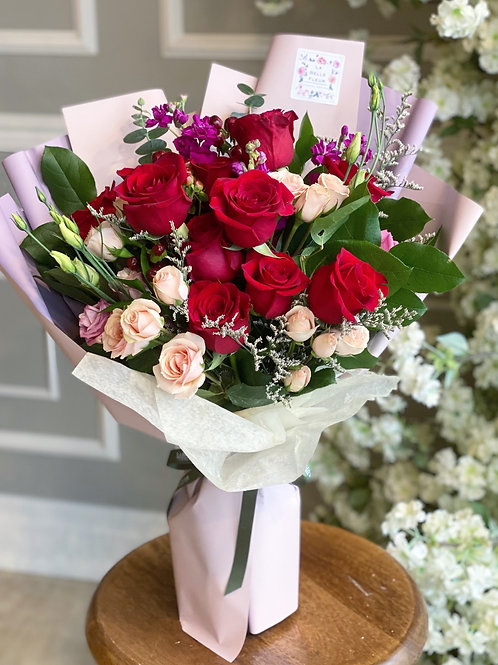 Pink & Red Bouquet