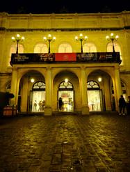L'entrée du Théâtre Royal de Namur
