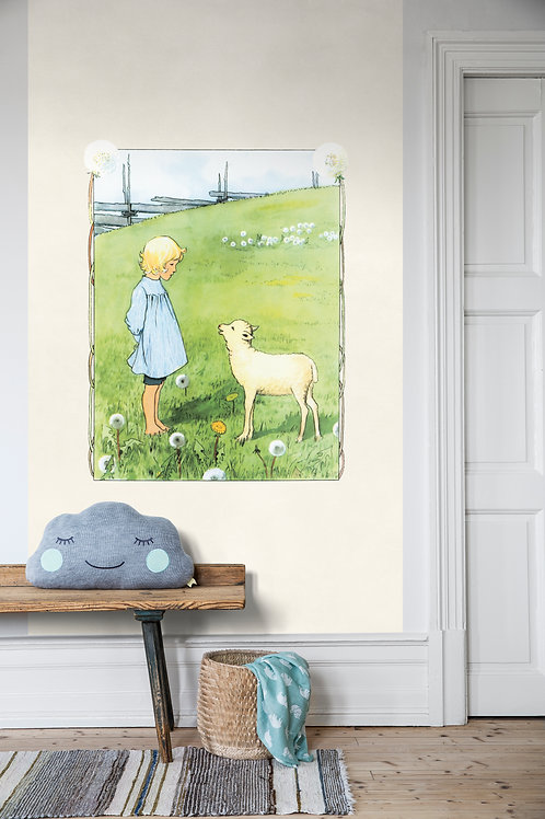 Bä bä vita lamm - Scandinavian Designers Mini
