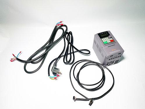 Частотный преобразователь 1.5 кВт PROFLEX + шлейф + комплект для подключения 220